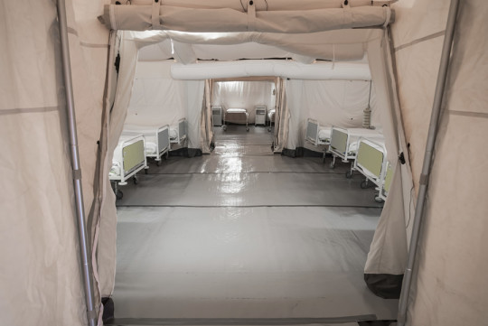 military-tent